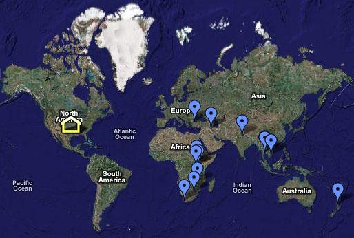 Itenerary Map